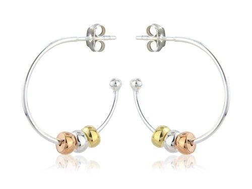 Gemma J Silver and Vermeil Harmony Beads Earring E361