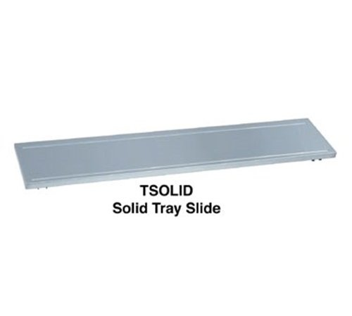 Duke FSOLID-HD-4 Tray slide with hinged brackets for (4) well units 58-3/8