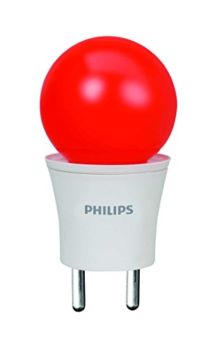 Philips Joy Vision Pearl Candy 0.5W LED Bulb (Red)