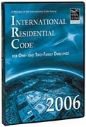 2006 International Residential Code for One- and Two-family Dwellings - CD-ROM Version 1.0