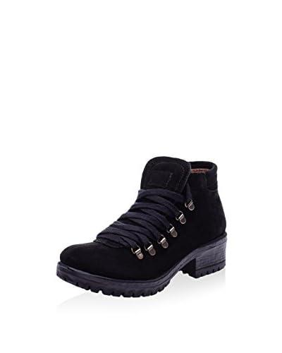 Bueno Zapatos abotinados Negro