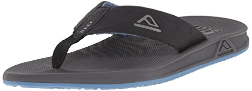 Reef Phantoms - Flip-flop Uomo, Blu (Grey/Blue), 42 EU