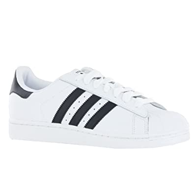 Adidas Superstar 2 White Black Mens Trainers Size 8 UK