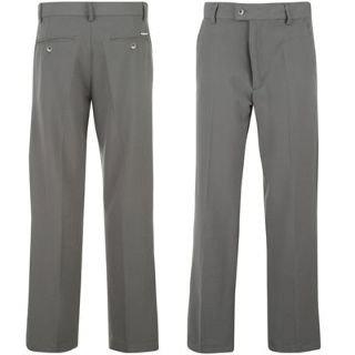 Dunlop Pro Plain Golf Trousers Mens Charcoal 38W S