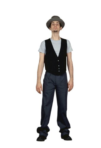 American Icons - 50s Blue Collar Worker Adult Halloween Costume Size 46 Large