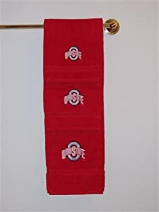 ohio state 3 bath towel set