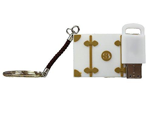 Salvador Bachiller - Clé USB 8g Porte - Tecnologia USB-M8G - Blanc