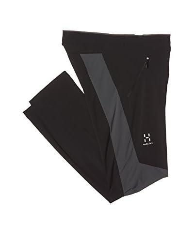 Haglöfs Pantalón Soft Shell Oreios Negro / Gris