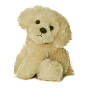 "Aurora Mini Flopsie 8"" BAILIE GOLDEN RETRIEVER DOG"