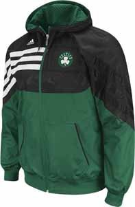 Boston Celtics Adidas Pre-Game On Court Full Zip Hooded Sweatshirt (XX-Large) at Amazon.com