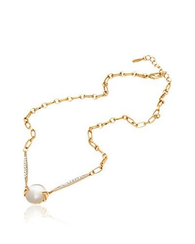 Sevil Round Glass Swarovski Elements Necklace