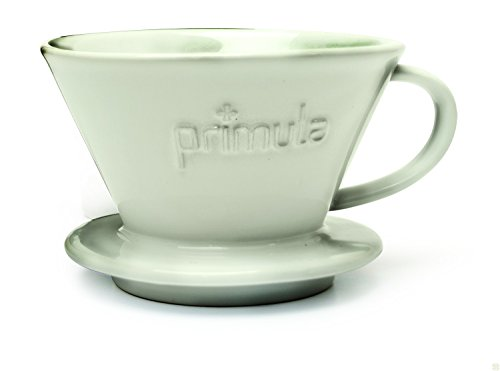 Primula Pour Over Coffee Maker - For Light, Non-Bitter Coffee - Drip Brewed - Fits Most Mugs and ...