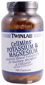 CellMins Potassium & Magnesium, 180 Capsules by Twinlab
