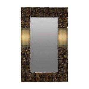 Quadralli Mirror by Fine Art Lamps