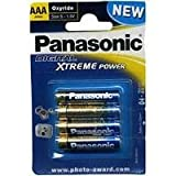 Panasonic Digital Xtreme Power Oxyride AAA Batteries Pack of 4