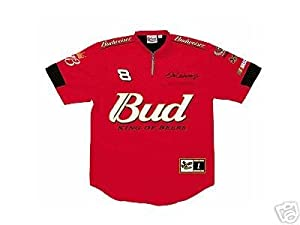 Dale Earnhardt Jr. NASCAR Red Pit Crew Jersey Shirt by Chase Authentics