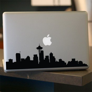 Seattle-Skyline-Decal-Vinyl-Sticker-for-Car-Window-Laptop-Wall