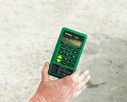 Thermohygrometer for Flooring