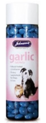 Johnsons Dog & Cat Garlic Internal Health Tablets x200