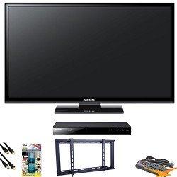 Samsung PN43E450 43 inch 720p Plasma HDTV Blu Ray Bundle