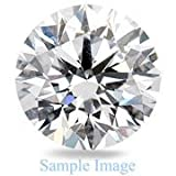 2.070 Carat - Round Cut Loose Diamond, VVS1 Clarity, H Color , Excellent Cut