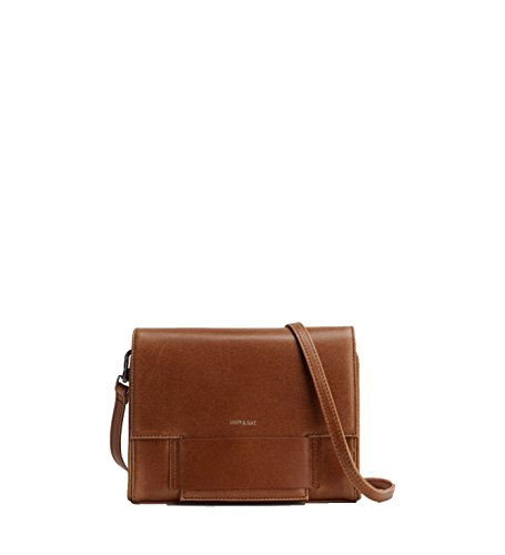 Matt & Nat Shareen Vintage Crossbody Bag, Chili (Brown)
