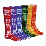 Tie Dyed Revolution Athletic Socks (15 Colors)