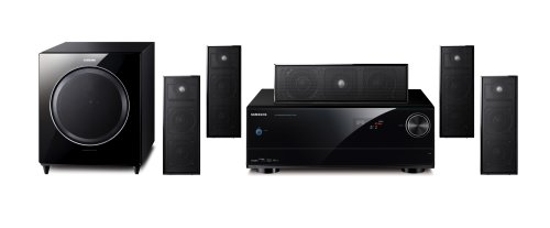 Samsung Ht-As720St Blu-Ray-Matching 5.1 Channel Home Theater System (Set Of Seven, Black)