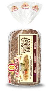 Oroweat® Honey Wheat Berry Bread 24 Oz. 2 Loaves (Bread Honey Wheat compare prices)
