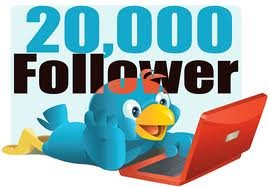 20,000 high quality twitter followers no password needed