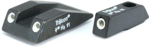 Trijicon 3 Dot Night Sight Set, Green Front & Yellow Rear - Taurus Ts01Y