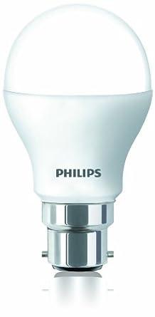 Buy Philips 929001120314 B22 Base 4-Watt LED Bulb (Cool ...