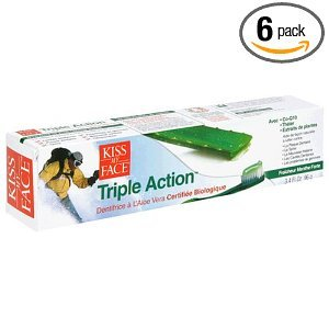 Kiss My Face Triple Action Organic Aloe Vera