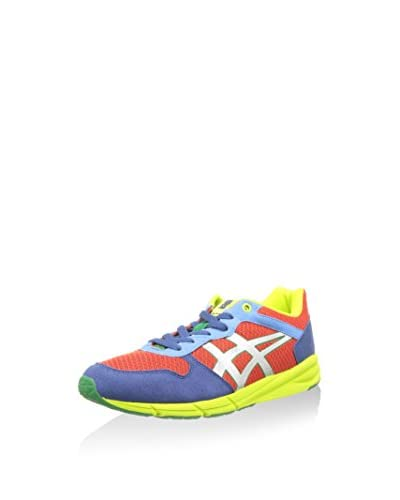 Onitsuka Tiger Sneaker Shaw Runner [Rosso/Multicolore]