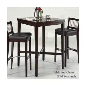 "Cherry Pub Table by Home Styles - 5987-35 (Cherry) (42.25""H x 30""W x 30""D)"