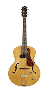 Godin 031979 5th Avenue Archtop Jazz-Style Acoustic Guitar (Kingpin P90, Natural)