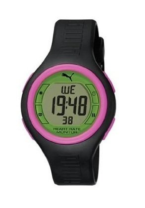 Cheap Puma Pulse Heart Rate Monitor Black / Green (PU910541015)