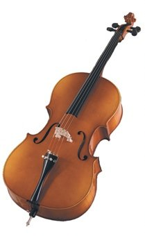 Becker 3000 Cello 1/4 , Polished Gold Brown