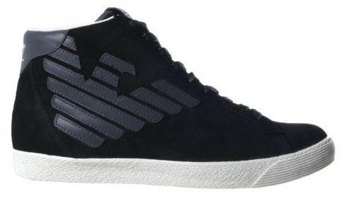 Scarpe Emporio Armani EA7 SNEAKER ALTA men's shoe 278039 CC299 Black - 8 US - 41 1/3 EU
