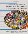 Statistical Reasoning in Psychology and Education (Student's Study Guide and Workbook, 3rd Edition) (0471824739) by Minium, Edward W.