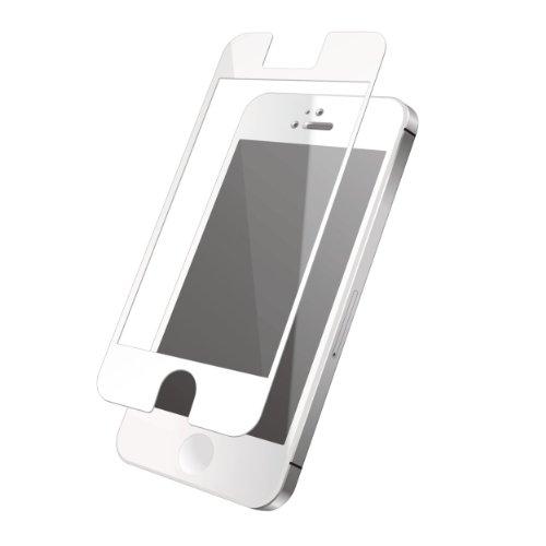 ELECOM iPhone 2012年9月発売モデル用 液晶保護フィルム 気泡ゼロ加工 スムースタッチ ホワイト PS-A12FLBSWH
