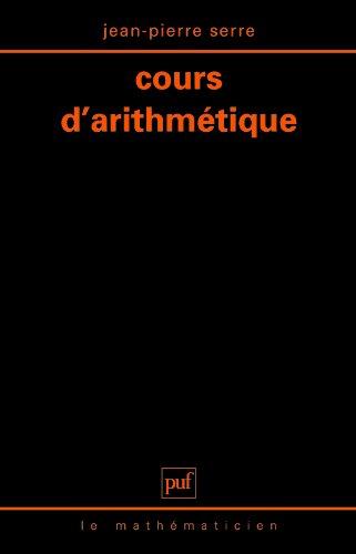 Cours d'arithmetique
