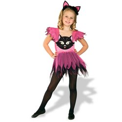 Kitty Cat Costume: Toddler's Size 2T-4T