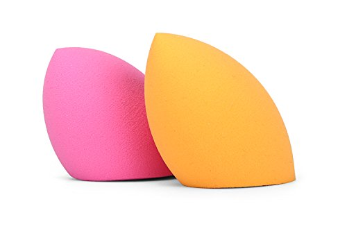 Beauty Flawless 2 Piece Makeup Blender Sponge Set Latex Free Makeup Sponge For Powder, Cream or Liquid Application (Blender Ball Powder compare prices)