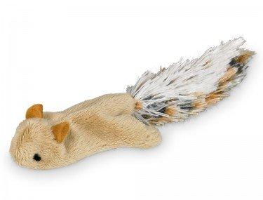 Nobby 67460 Plüsch Eichhörnchen mit Catnip