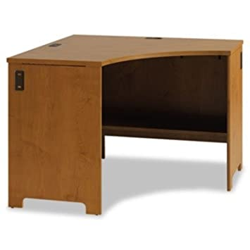 Office Connect Furniture Envoy Corner Desk Shell Finish: Natural Cherry
