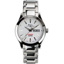 Ball NM2026C-SCJ-WH Watch Red Label COSC Mens - White Dial Stainless Steel Case Automatic Movement