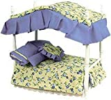 Miniature Country French Canopy Bed sold at Miniatures