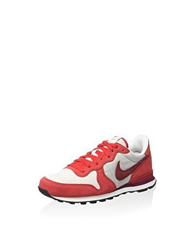 Nike Sneaker Internationalist Prm [Rosso/Bianco]