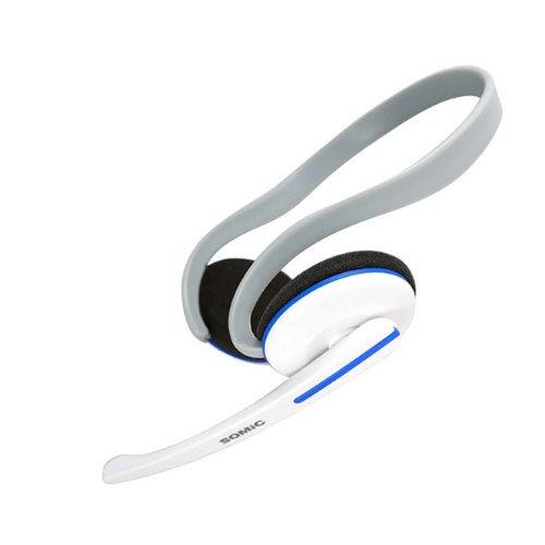 Zps(Tm) Hot Sale Somic Ev-12 Stereo Headphone Gaming Headset Game Earphone Mic Headphone Blue
